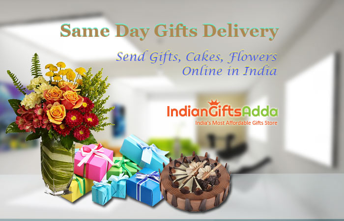 Same Day Gifts Delivery: Shop and Send Gifts, Cakes, Flowers Online in India