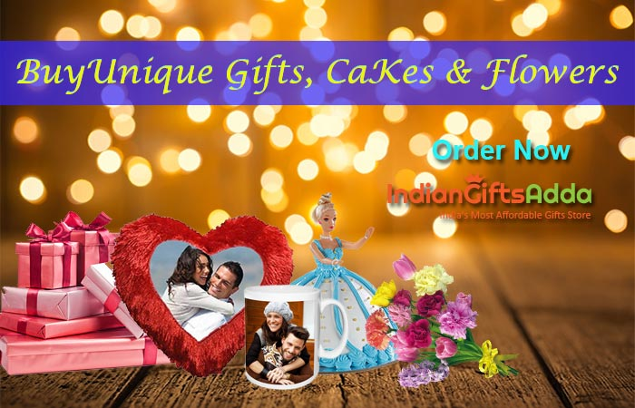 Buy Unique Online Gifts, Cake and Flowers | Order Now – IndianGiftsAdda