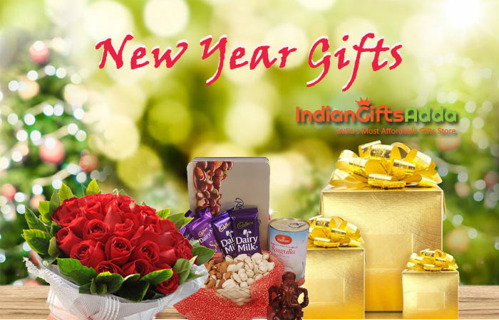 Send New Year Gifts Online in India on Affordable Price