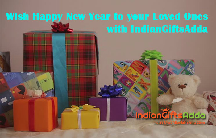 Wish Happy New Year to Your Loved Ones with IndianGiftsAdda