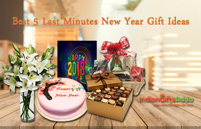 Best 5 Last Minutes New Year Gift Ideas - Send New Year Gifts to India Same Day