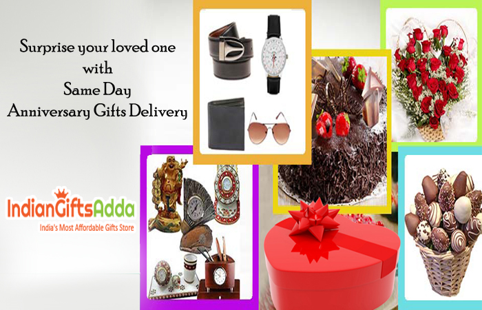 Surprise your loved one with Same Day Anniversary Gifts Delivery