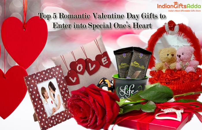 Top 5 Romantic Valentine Day Gifts to Enter into Special One's Heart