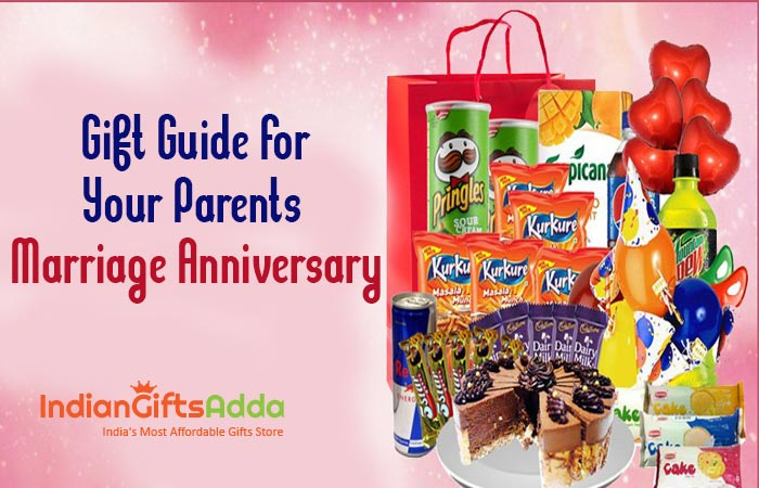 Gift Guide for your Parents Marriage Anniversary