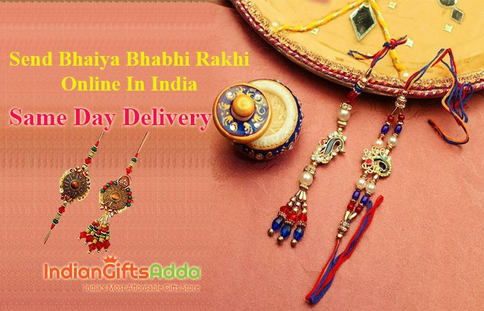 Send Bhaiya Bhabhi Rakhi Online in India – Same Day Delivery