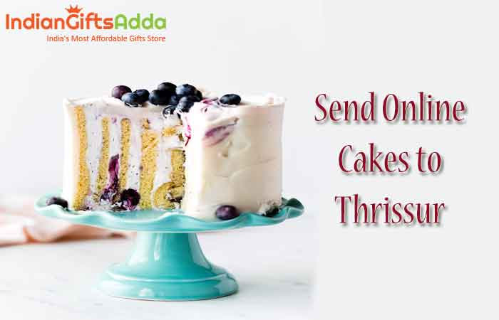 Send Online Cakes to Thrissur