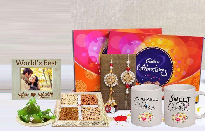 Perfect Rakhi Gifts for Bhaiya Bhabhi for Raksha Bandhan 2021