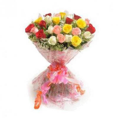 50 Mix Roses Bouquet