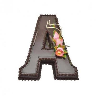 Alphabet Cake (any alphabet)