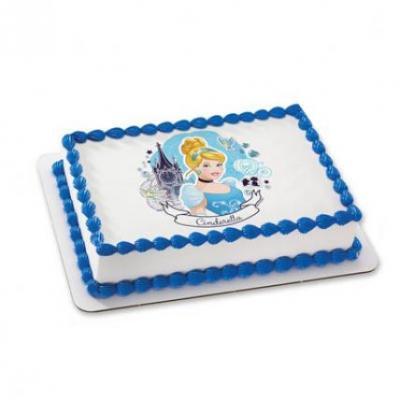Cinderella Photo Cake