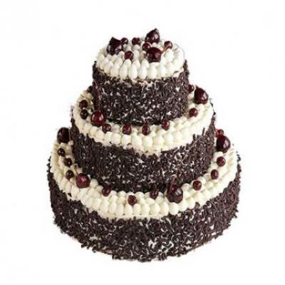3 Tier Black Forest Cake