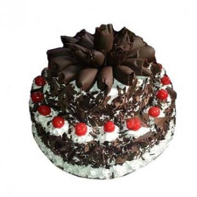 2 Tier Black Forest Cake From 5 Star