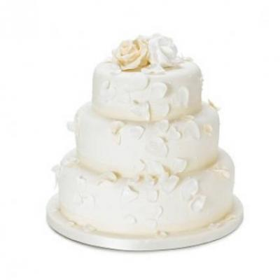 3 Tier Vanilla Cake From 5 Star