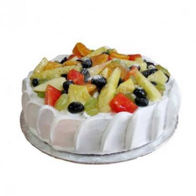Fresh Fruit Cake From 5 Star
