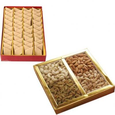 Mix Dry Fruits With Kaju Burfi