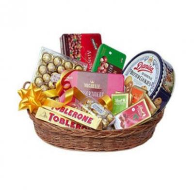 Imported Chocolates Basket