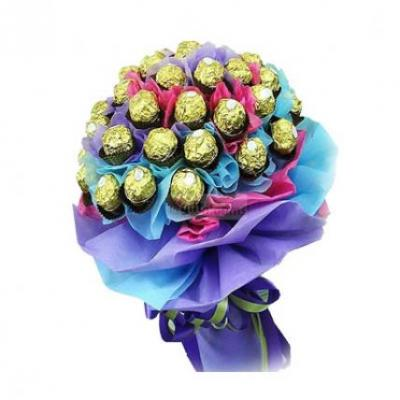 24 Pcs Ferrero Rocher Bouquet