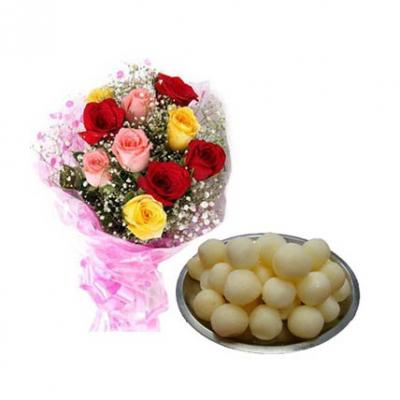 Mix Roses With Rasgulla