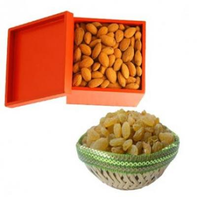 Almonds With Kismis