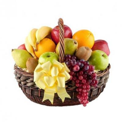 Exclusive Fresh Fruits Basket
