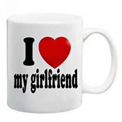 I Love My Girl Friend Mug