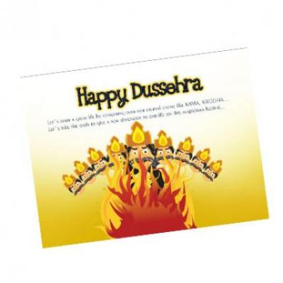 Dussehra Card