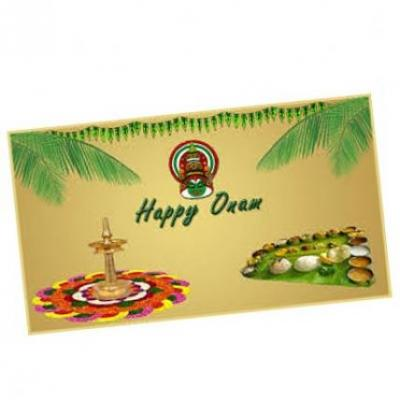 Onam Card