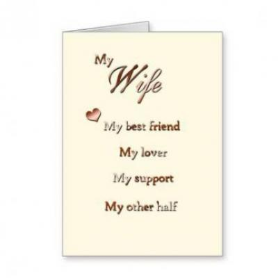 Card For Wife