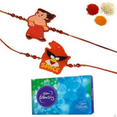 Kids Rakhi With Cadbury Celebration Pack