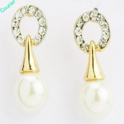 Pearl Diamond Earings