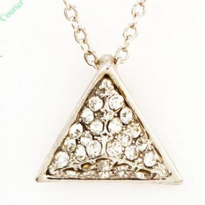 Pyramid Diamond Pendant