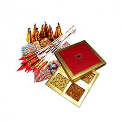 Dry Fruits With Crackers