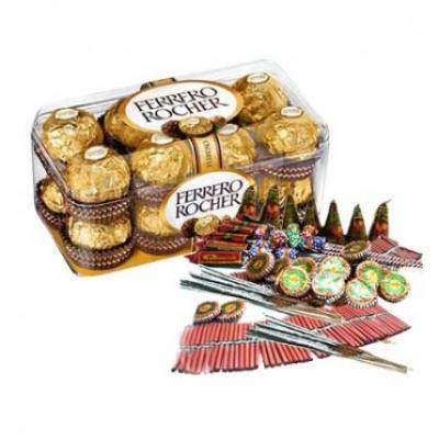 Ferrero Rocher With Crackers