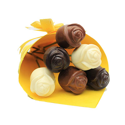 Dark Milk and White Chocolate Roses