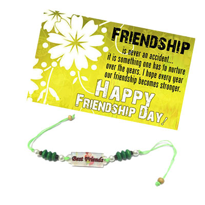 Friendship Day Band with Card
