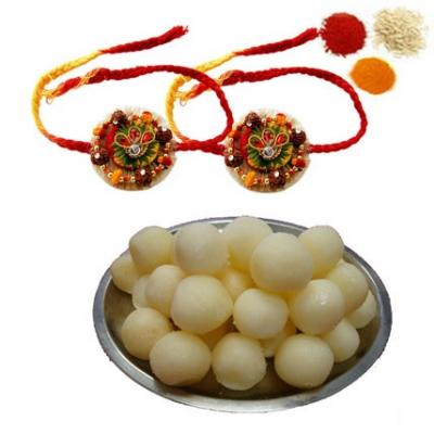 Rakhi with Rasgulla