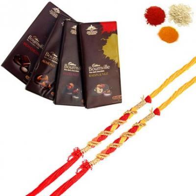 Rakhi with Bournville Chocolates