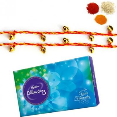 Ghungroo Rakhi with Cadbury Celebration