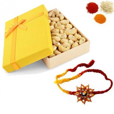 Rakhi with Cashew