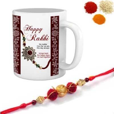 Rakhi with Mug