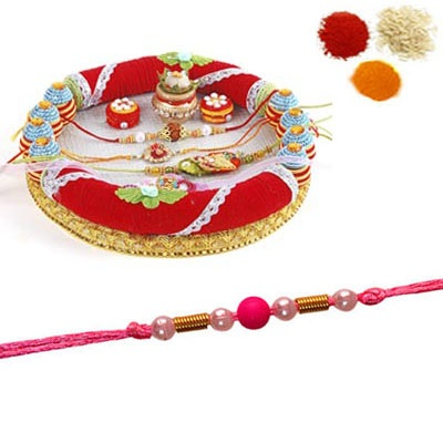 Rakhi Thali with 1 Free Rakhi
