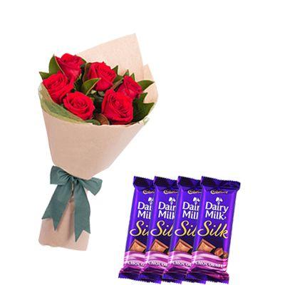 Cadbury Silk with Flowers