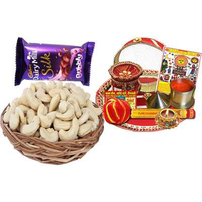 Thali, Dairy Milk & Cashew