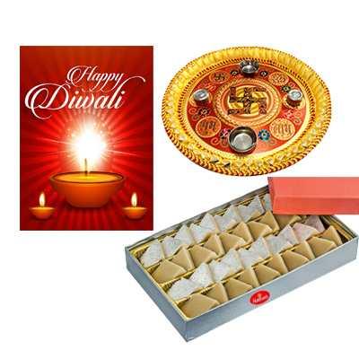 Diwali Pooja Thali Hamper