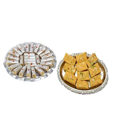 Kaju Roll with Soan Papri