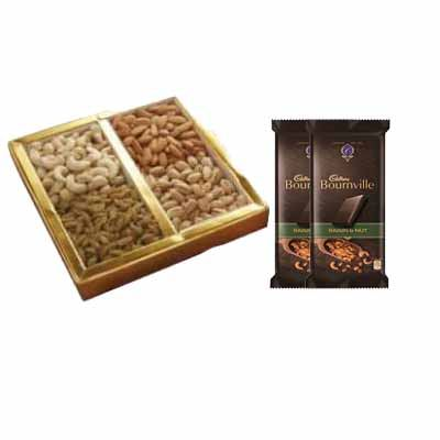 Mixed Dry Fruits with Bournville