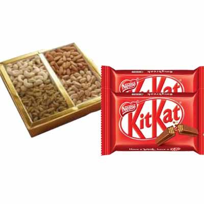 Mixed Dry Fruits with Kitkat Chocolate