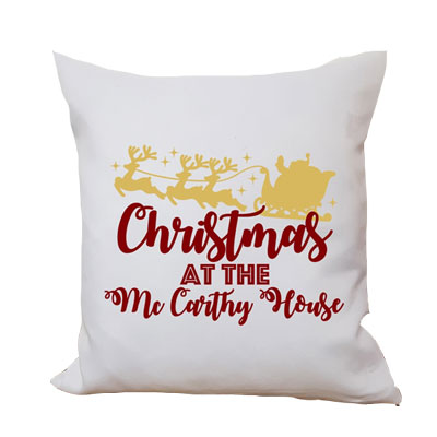 Happy Christmas Cushion