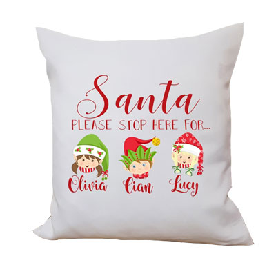 Santa Cushion