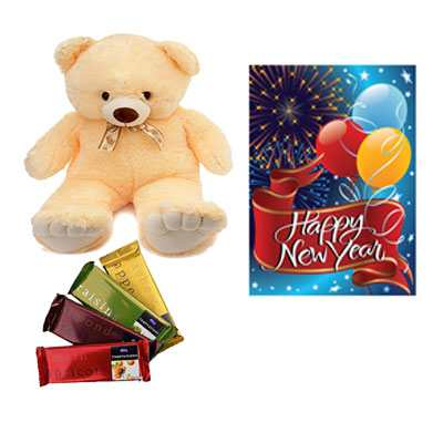 Cadbury Temptations Bar, Card & Teddy Bear